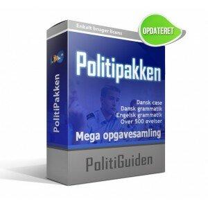 Politipakken - Hjælp til den skriftlige prøve